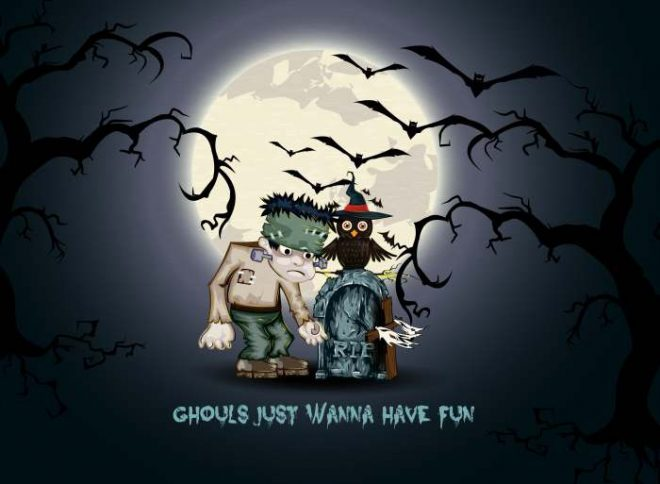 Ghouls just want to have fun
