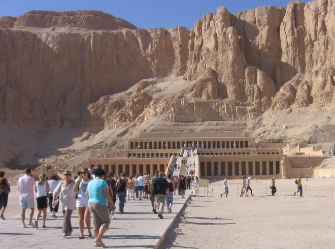 Rock temple of Hatshepsut