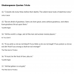 Shakespeare trivia questions and answers image
