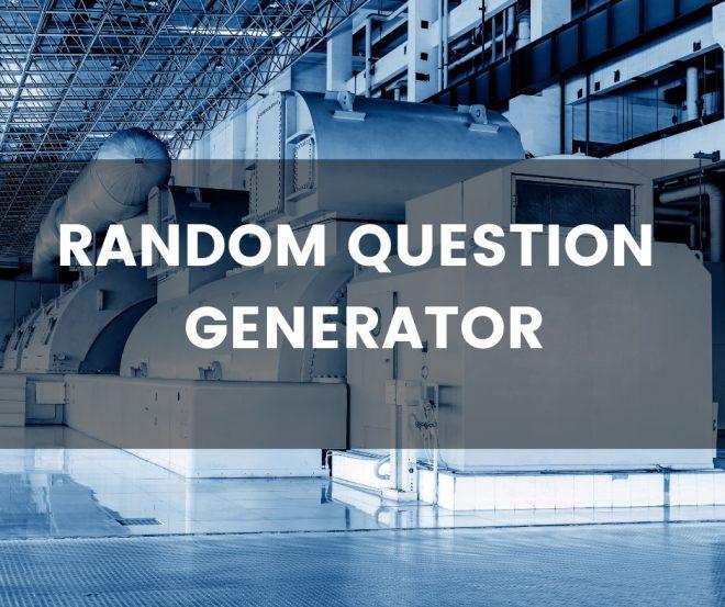 Random question generator