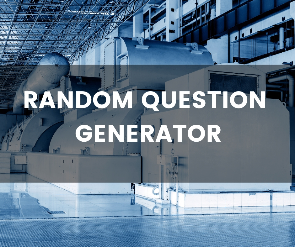 Random Question Generator - Push the button and get a question!