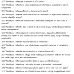 List of would you rather questions
